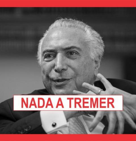TEMER ACONSELHA BOLSONARO A NÃO BRIGAR COM VICE