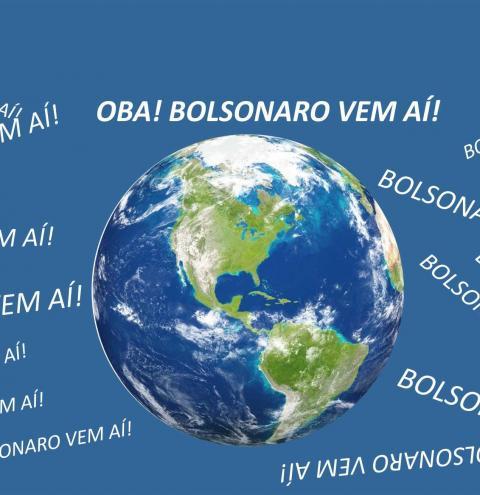 O MUNDO INTEIRO GRITA: OBA! BOLSONARO VEM AÍ!!!