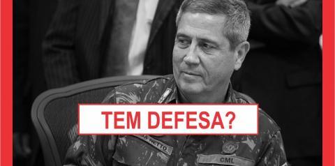 MINISTRO DA DEFESA PRECISA RECUAR