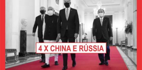 BIDEN CONTRA CHINA E RÚSSIA