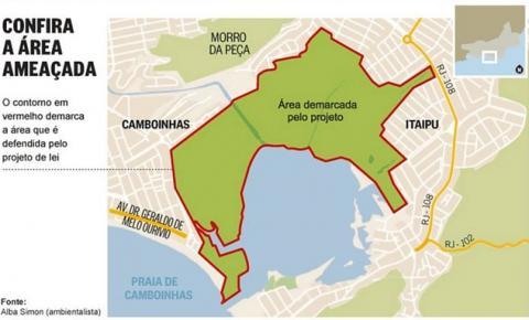Mobilização em defesa da Lagoa de Itaipu vai ser domingo.