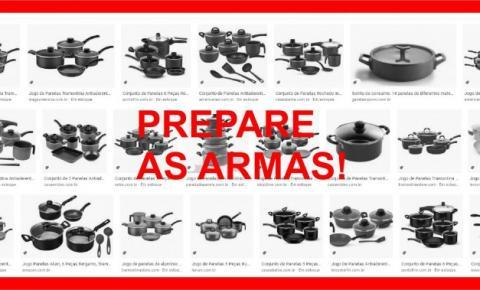 PREPARE AS ARMAS!