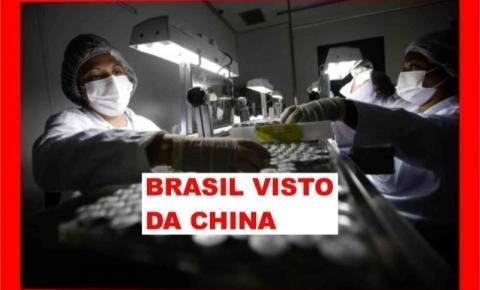BRASIL VIRA NOTÍCIA NA CHINA