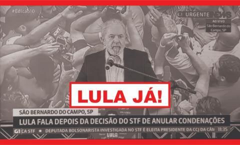 LULA VOLTOU!