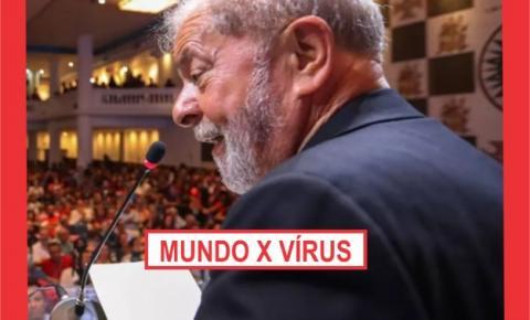 O MUNDO CONTRA O VÍRUS!