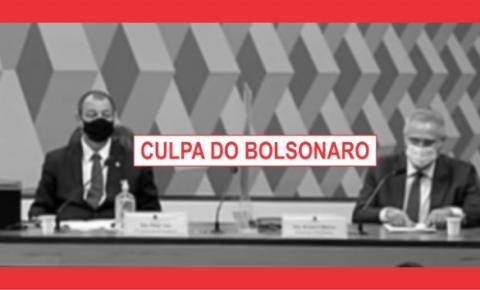 BOLSONARO NÃO COMBATE O CORONAVÍRUS.