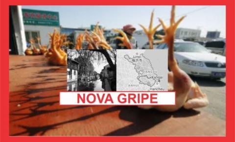CHINA CONFIRMA PRIMEIRO CASO HUMANO DE NOVA GRIPE