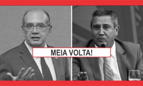 GILMAR TEM MENSAGEM PARA OS MILITARES DE BOLSONARO: