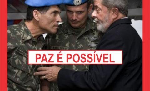 LULA AVANÇA NA QUESTÃO MILITAR