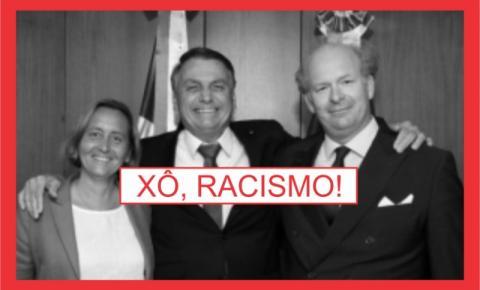 NAZISMO NÃO É BRASIL.