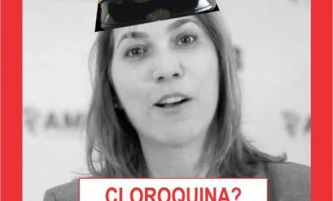 CAPITÃ CLOROQUINA PODE IR PRA HAIA