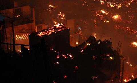 Grávida de 14 anos e sargento dos Bombeiros estão entre feridos em incêndio na Zona Sul de Manaus