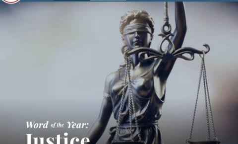 Justiça é eleita palavra do ano pelo dicionário americano