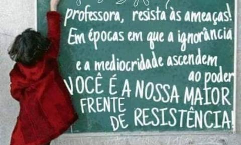 PROFESSORES DA RESISTÊNCIA