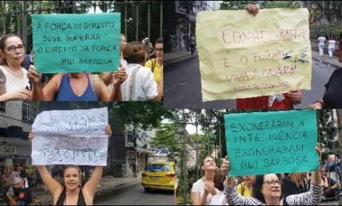 MANIFESTAÇÃO EM DEFESA DA CASA DE RUI BARBOSA