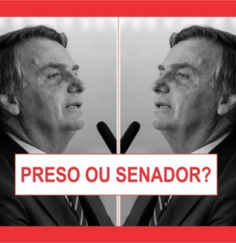 BOLSONARO PROCURA ESCAPAR DA CADEIA