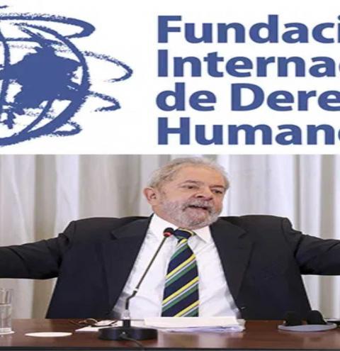 FUNDAÇÃO INTERNACIONAL DE DIREITOS HUMANOS CONCEDE PRÊMIO A LULA
